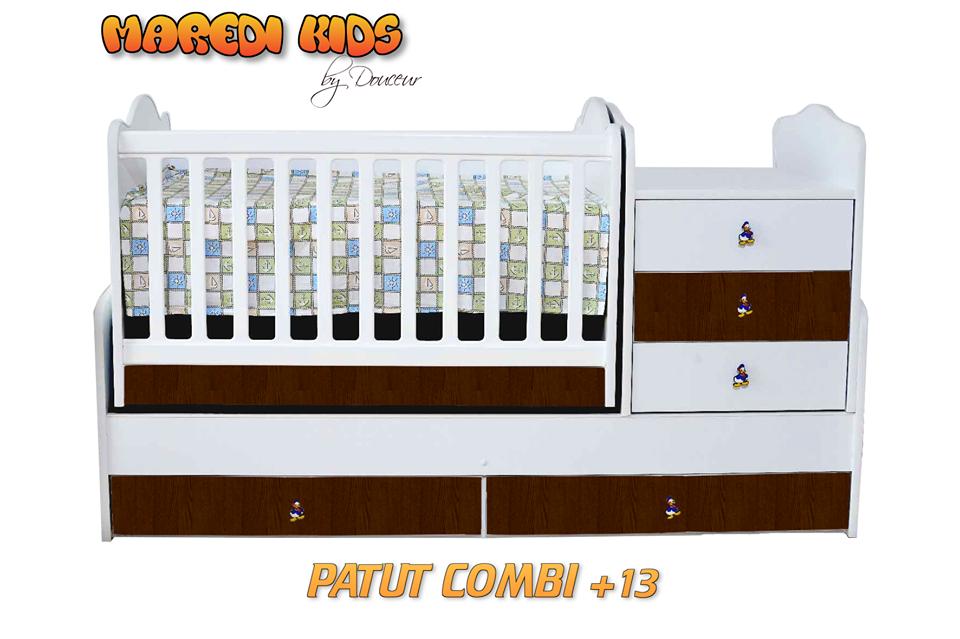 PATUT COMBI TRANSFORMERS MAXI +13 MAREDI KIDS (180 CM) *PREDOMINANT ALB SI CULOARE LA ALEGERE