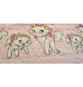 Lenjerie cu 6 piese Pisici 110 cm x 70 cm